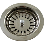 90mm Basket Strainer Waste Stainless Steel