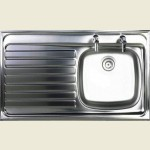 Sit-On Sink 2 Tap LHD