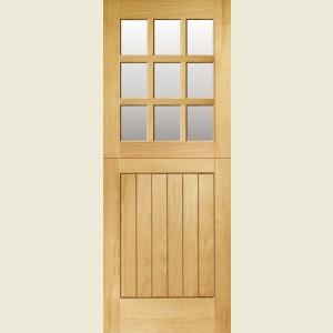 Nine Light MT Oak Stable Doors