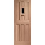 30 x 78 York 1-light Stable Door Unglazed