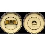 50mm Bathroom Thumbturn Emergency Release Polished Brass