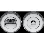 50mm Bathroom Thumbturn Emergency Release Polished Chrome