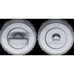50mm Bathroom Thumbturn Emergency Release Satin Chrome