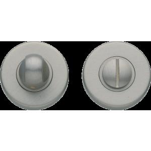 Garda Bathroom Lock Thumb Turn Release Satin Nickel