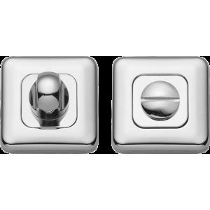 Lugano Bathroom Lock Thumb Turn Release Polished Chrome