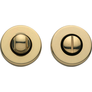 Garda Bathroom Lock Thumb Turn Release Polished Brass