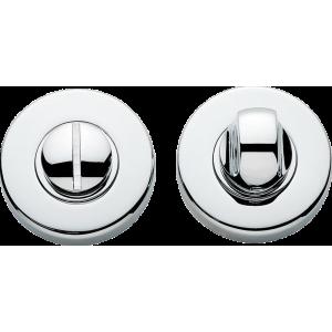 Garda Bathroom Lock Thumb Turn Release Polished Chrome