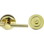 Easy Turn And Release On Rose Polished Brass