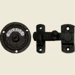 Antique Black Indicator Release Bolt