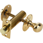 Bathroom Bolt And Release Complete Polished Brass