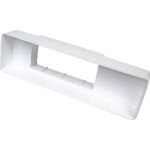 Air Brick Adaptor For 110mm x 54mm Flat Channel Ducting
