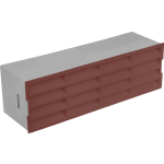 Brown Air Brick For 110mm x 54mm Flat Channel Ducting