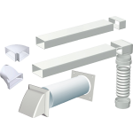 150mm High Performance Venting Kit 3.5m