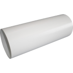 1m x 150mm Rigid Round Venting Pipe