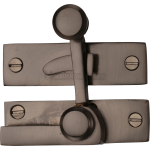 Low Profile Sash Window Quadrant Latch Fastener Matt Bronze