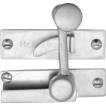 Low Profile Sash Window Quadrant Latch Fastener Satin Chrome