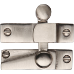 Sash Window Reeded Quadrant Latch Fastener Satin Nickel