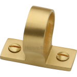 29mm Sash Window Finger Lift Ring Satin Brass