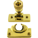 Brighton Sash Window Fastener Polished Brass