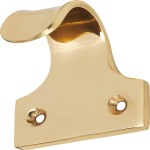 Sash Window Finger Lift Polished Brass
