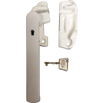 Shaw 2600 Cockspur Window Handle & Keep Set White Left Hand