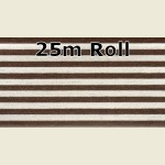 25m Walnut Steel Metallic PVC Edge Banding