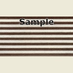 Walnut Steel Metallic PVC Edging Sample