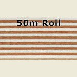 50m Beech Steel Metallic PVC Edge Banding