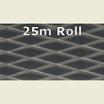 25m Dark Mesh Metallic PVC Edge Banding