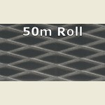 50m Dark Mesh Metallic PVC Edge Banding