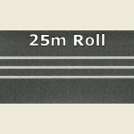 25m Grey Steel 3D PVC Edge Banding