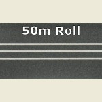 50m Grey Steel 3D PVC Edge Banding