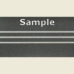 Grey Steel 3D PVC Edge Sample