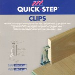Quick Step 700-800 High Skirting Installation Clips