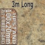 Amber Kashmir Upstand 3m