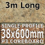 Amber Kashmir Worktop 3000mm