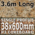 Amber Kashmir Worktop 3600mm