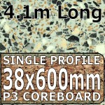 Anthracite Peru Worktop 4100mm