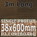 Antique Blocked Walnut Worktop 3000mm