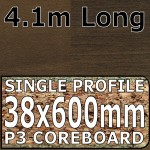 Antique Blocked Walnut Worktop 4100mm
