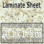 Aticos Gold Laminate Sheet 4120mm X 1510mm