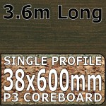 Axiom Bali Wood Worktop 3.6m