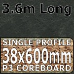Axiom Basalt Slate Worktop 3.6m