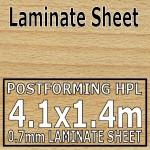 Beech Butcher Block Laminate Sheet 4100mm X 1400mm