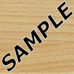 Beech Butcher Block Formica Sample