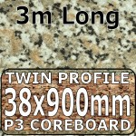 Beige Granite Breakfast Bar 3000mm