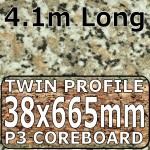 Beige Granite Worktop Breakfast Bar 4100mm