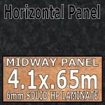 Black Brazil Gloss Back Panel 4.1m