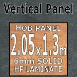 Black Limestone Hob-Panel