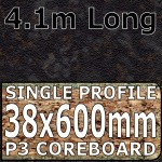 Black Quasar Worktop 4100mm